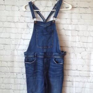 Zara jean overalls, size large.